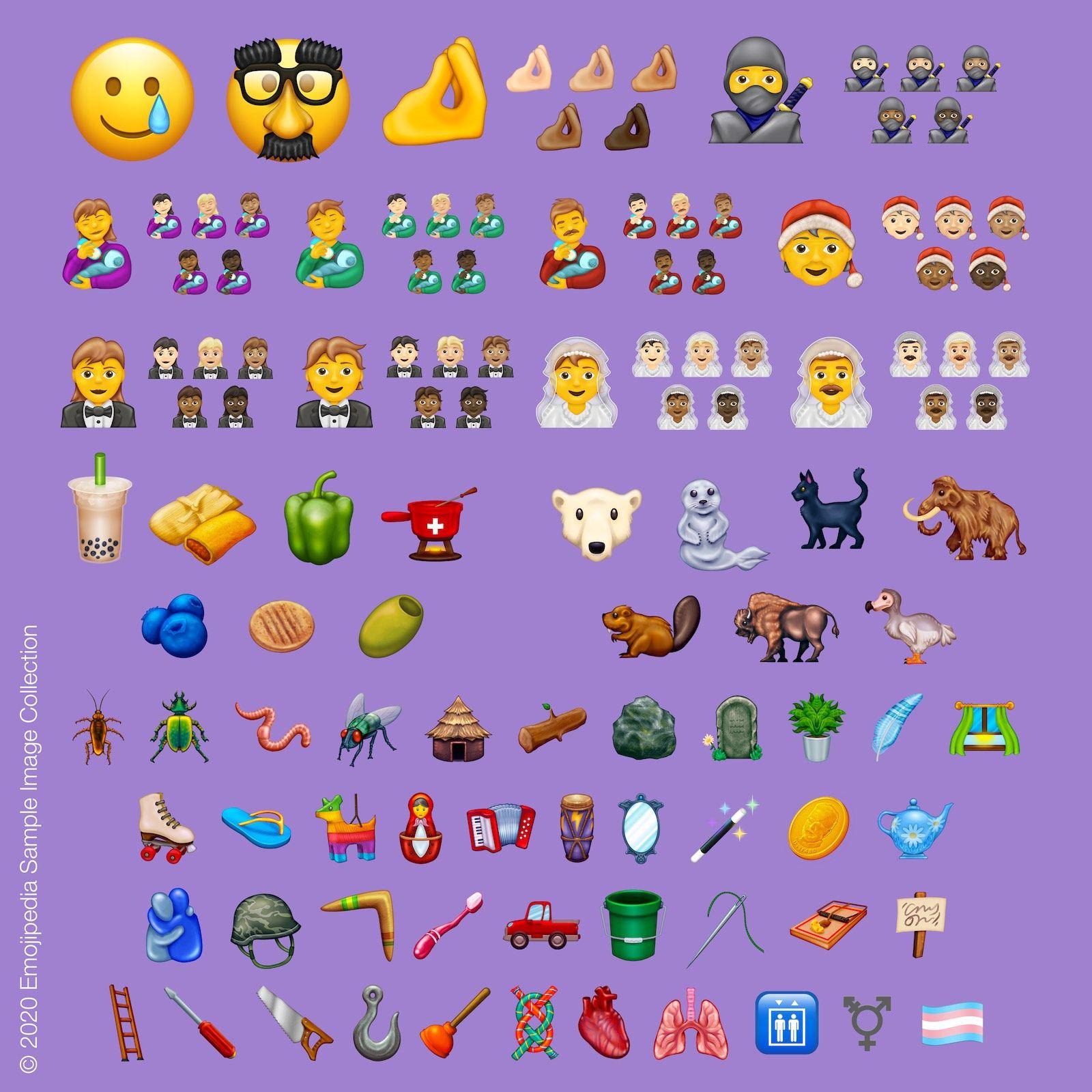 2020 Yılında 117 Yeni Emoji Ekleniyor